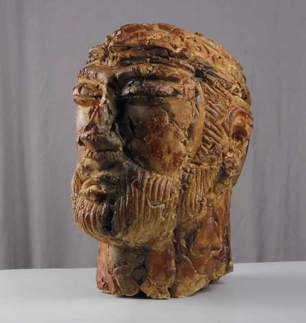 MAHESH ANJARLEKAR | Withered Valor 1 Sculpture by artist MAHESH ANJARLEKAR on Ceramics | ArtZolo.com