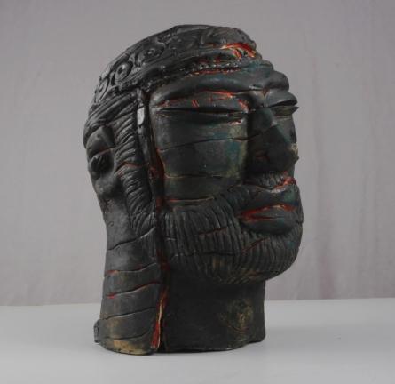 Withered Valor 2 | Sculpture by artist MAHESH ANJARLEKAR | Ceramics