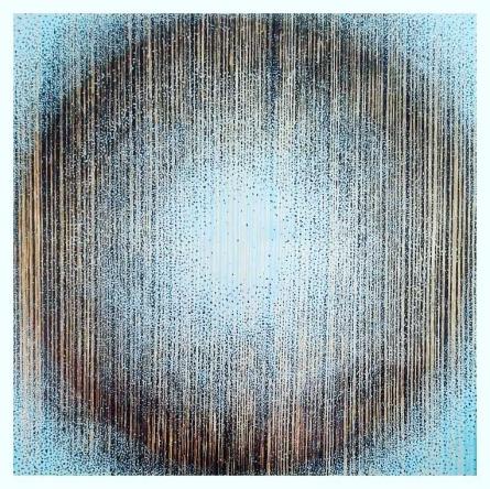 Abstract Acrylic Art Painting title Benison by artist Ekta Sharma