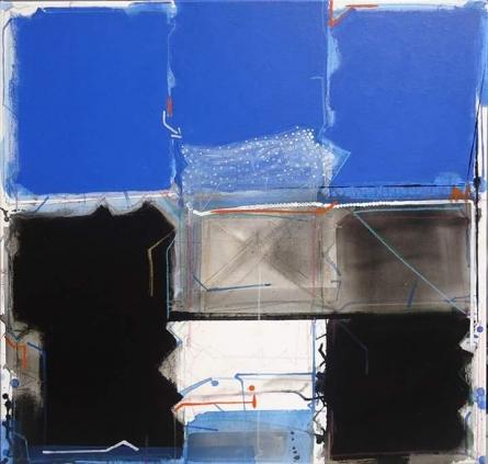 Abstract 4 | Painting by artist Santosh Rathod | acrylic | Canvas