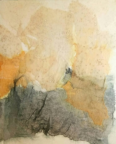 Abstract 5 | Painting by artist Madhuri Kathe | mixed-media | Canvas