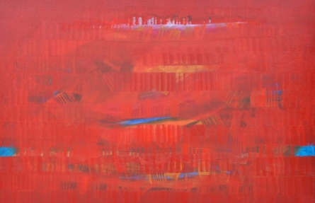 Search Of Eternity 21 | Painting by artist Raghu Neware | oil | Canvas
