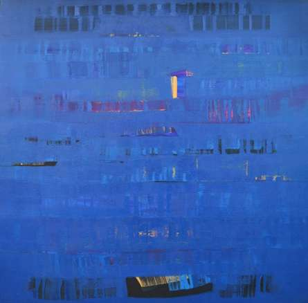 Search Of Eternity 26 | Painting by artist Raghu Neware | oil | Canvas