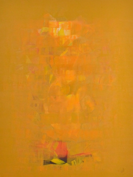 Search of Eternity 34 | Painting by artist Raghu Neware | oil | Canvas