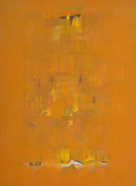 Raghu Neware | Oil Painting title Search of Eternity 31 on Canvas