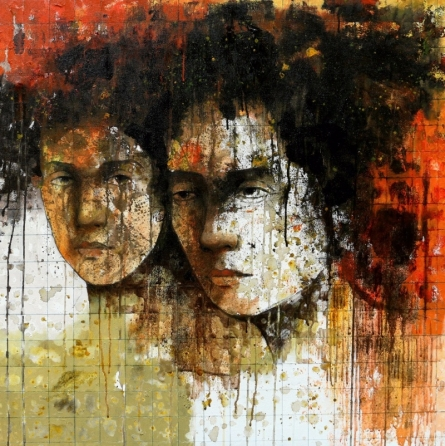 Swati Sable Paintings | Figurative Painting - Untitled 4 by artist Swati Sable | ArtZolo.com