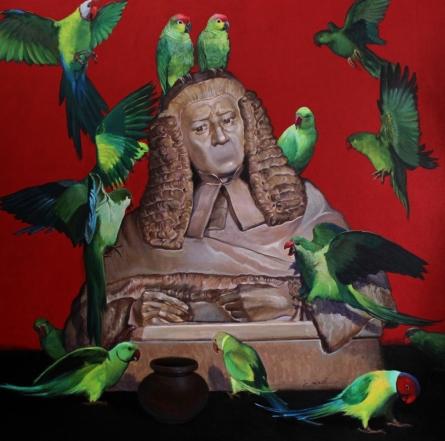 Judgement | Painting by artist Javed Mulani | acrylic | Canvas