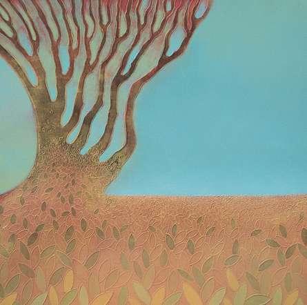 Untitled 6 | Painting by artist Shivaji Chavan | acrylic | Canvas