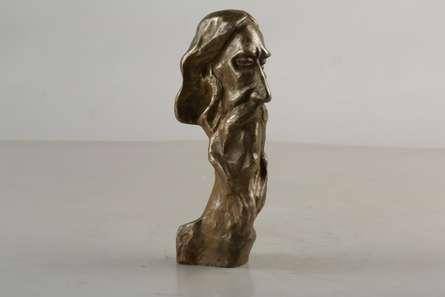 Rabindranath | Sculpture by artist Tapas Sarkar | Bronze