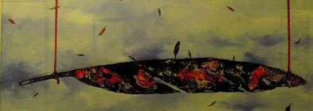 Plumage Evolution 6 | Painting by artist Raosaheb Gagre | acrylic | Canvas