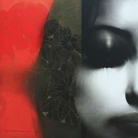 Untitled 1 | Painting by artist Nishant Dange | mixed-media | Canvas