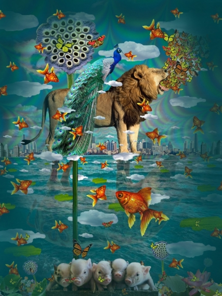 Sanjay Kumar | Nature 3 Digital art Prints by artist Sanjay Kumar | Digital Prints On Canvas, Paper | ArtZolo.com
