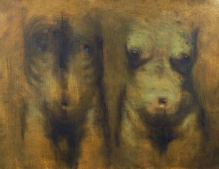 Untitled 1 | Painting by artist Aditya Puthur | oil | Canvas