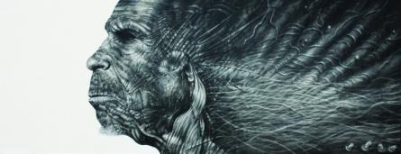 Folds | Painting by artist Vikram Nayak | oil | Canvas
