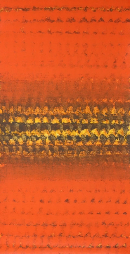 01 Abstract | Painting by artist Satish Kale | acrylic | Canvas