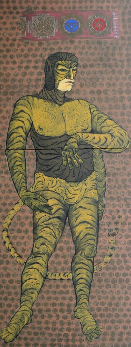 David | Painting by artist Abhishek Chourasia | acrylic | Canvas