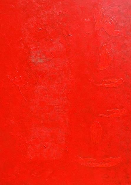 Sambodhi | Painting by artist Mogglan shravasti | acrylic | Canvas