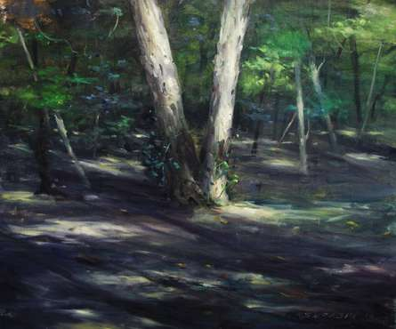 Twins   Painting by artist SURABHI GULWELKAR   oil   Canvas