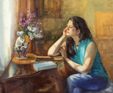 Dreaming Large | Painting by artist Aditya Phadke | oil | Canvas