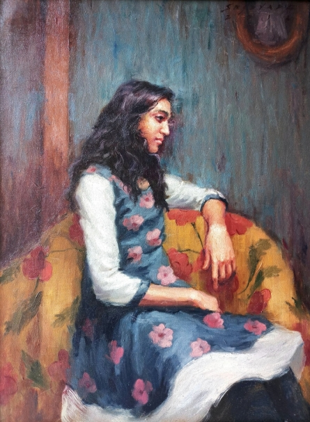 Untitled 3 | Painting by artist Siddharth Gavade | oil | Canvas