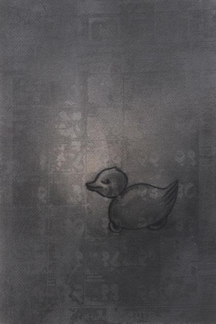 Toy 3   Drawing by artist Deepak Sinkar      charcoal   Paper