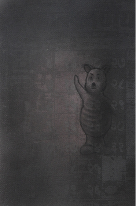 Toy 2 | Drawing by artist Deepak Sinkar |  | charcoal | Paper