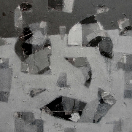 Contrast Mind 2 | Painting by artist Jayesh Borse | acrylic | Canvas
