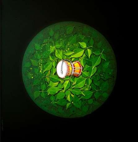 God Shiva | Painting by artist RAJIB DEYASHI | acrylic | Canvas