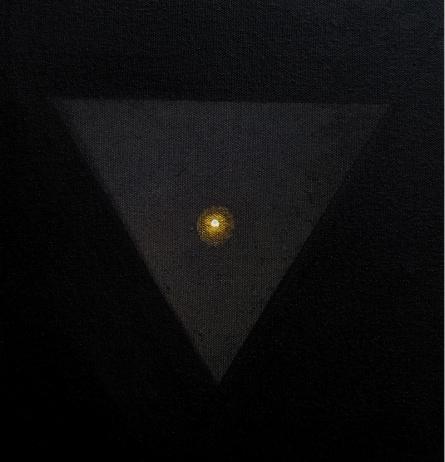 Religious Acrylic Art Painting title Prakrity by artist RAJIB DEYASHI