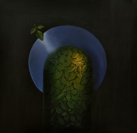 RAJIB DEYASHI | Acrylic Painting title Shiva on Canvas | Artist RAJIB DEYASHI Gallery | ArtZolo.com