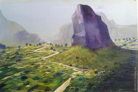 Aashirgad   Painting by artist Yogesh Lahane   watercolor   Paper