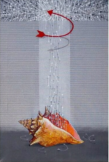 The War   Painting by artist Yogesh Lahane   acrylic   Canvas