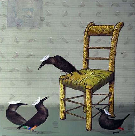 Van Gogh | Painting by artist Yogesh Lahane | acrylic | Canvas