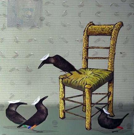 Van Gogh   Painting by artist Yogesh Lahane   acrylic   Canvas