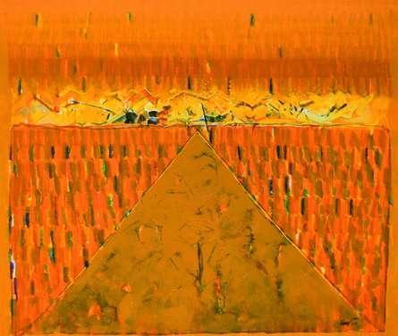Mindspace 7 | Painting by artist Sanjay Tikkal | acrylic | Canvas