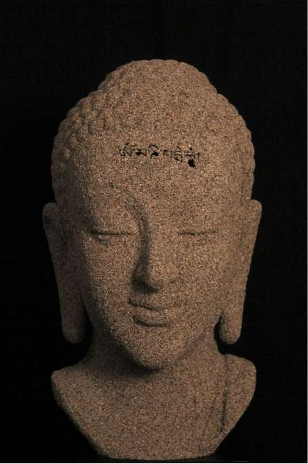 Sand Buddha   Sculpture by artist Sagar Rampure   Fiberglass