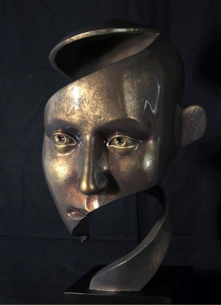 Twisted | Sculpture by artist Sagar Rampure | Fiberglass