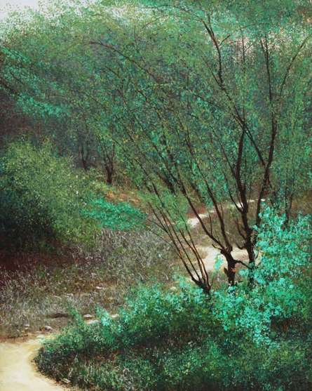 Beauty Of Nature | Painting by artist VIMAL CHAND | acrylic | Canvas