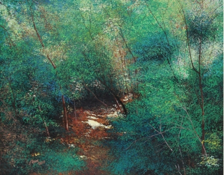 Pathway | Painting by artist VIMAL CHAND | acrylic | Canvas