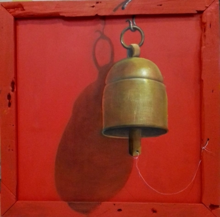 Bell | Painting by artist Gopal Pardeshi | acrylic | Canvas