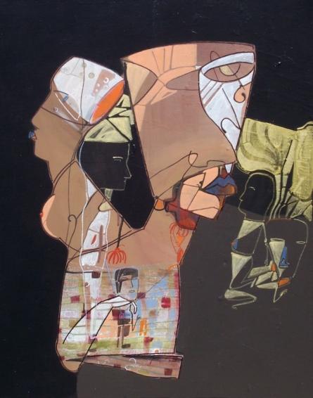Untitled | Painting by artist Shambhu Prasad Reddy Kolli | acrylic | Canvas