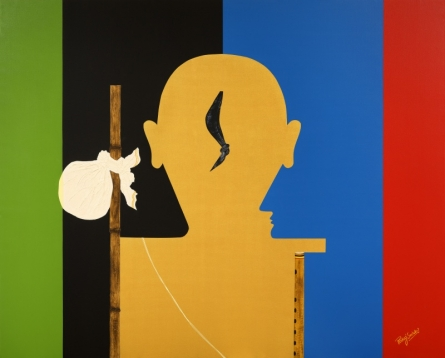 4.balsakha | Mixed_media by artist Pankaj Sachdeva | Canvas