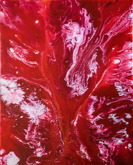Untitled 14   Painting by artist Kartikey Sharma   acrylic   Canvas
