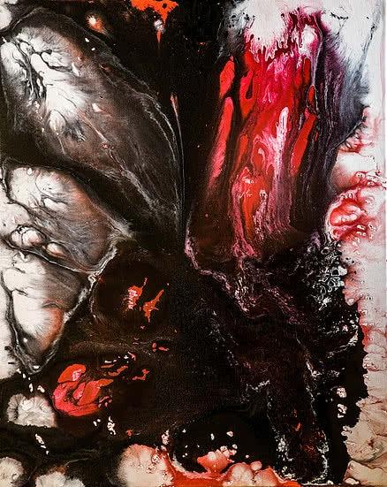 Untitled 15 | Painting by artist Kartikey Sharma | acrylic | Canvas