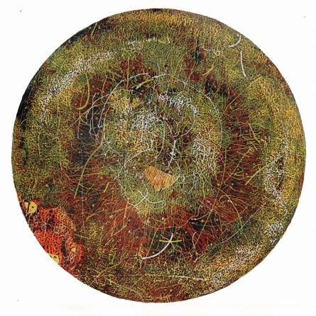 WOODEN VISCOSITY 5   Painting by artist Murali  Chinnasami   acrylic   Wood