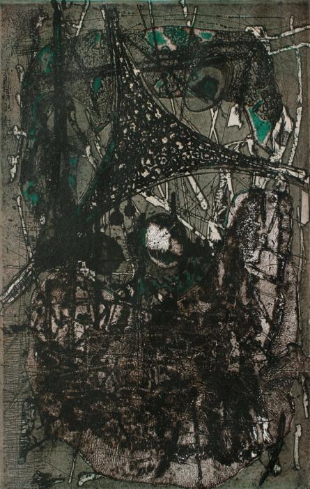 VISCOSITY 2 | Painting by artist Murali  Chinnasami | acrylic | Wood