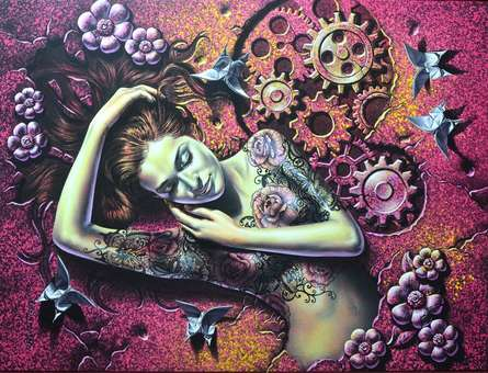 Glow | Painting by artist Prashanta Nayak | acrylic | Canvas