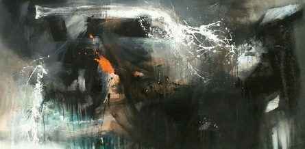 Space 21 | Painting by artist Gulrez Ali | acrylic | Canvas