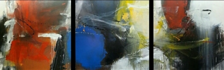 Space 45 | Painting by artist Gulrez Ali | acrylic | Canvas