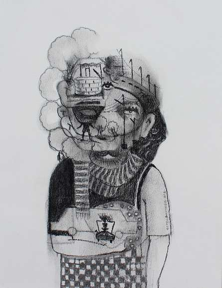 Untitled 7 | Drawing by artist Gopal Shinde |  | pencil | Paper